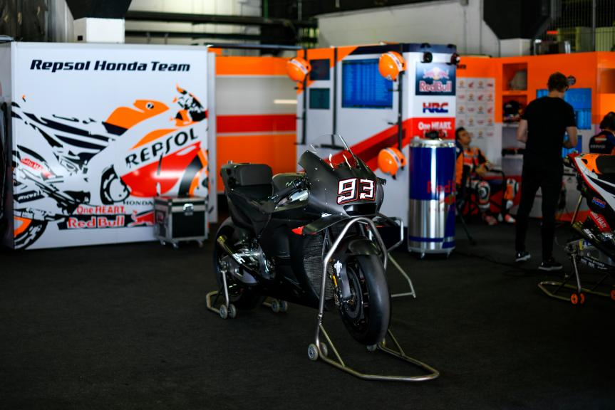 Marc Marquez, Repsol Honda Team, Catalunya MotoGP Official Test