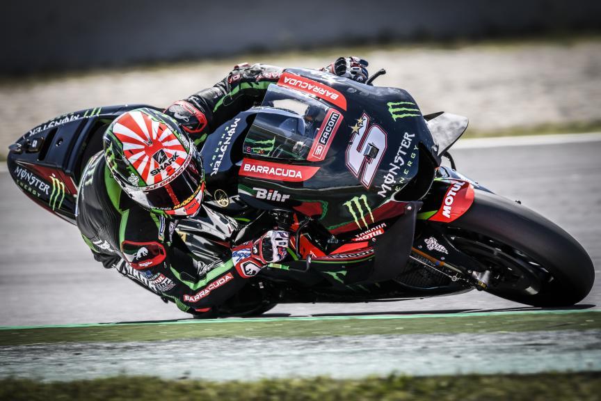 Johann Zarco, Monster Yamaha Tech 3, Catalunya MotoGP Official Test