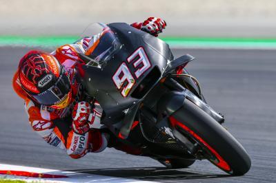 Marquez tops testing in Barcelona