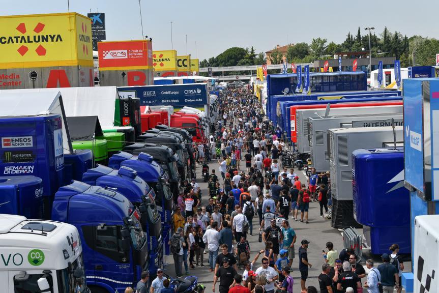 Paddock Experience, Gran Premi Monster Energy de Catalunya