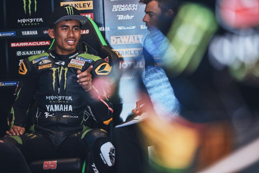 Hafizh Syahrin, Monster Yamaha Tech 3, Gran Premi Monster Energy de Catalunya