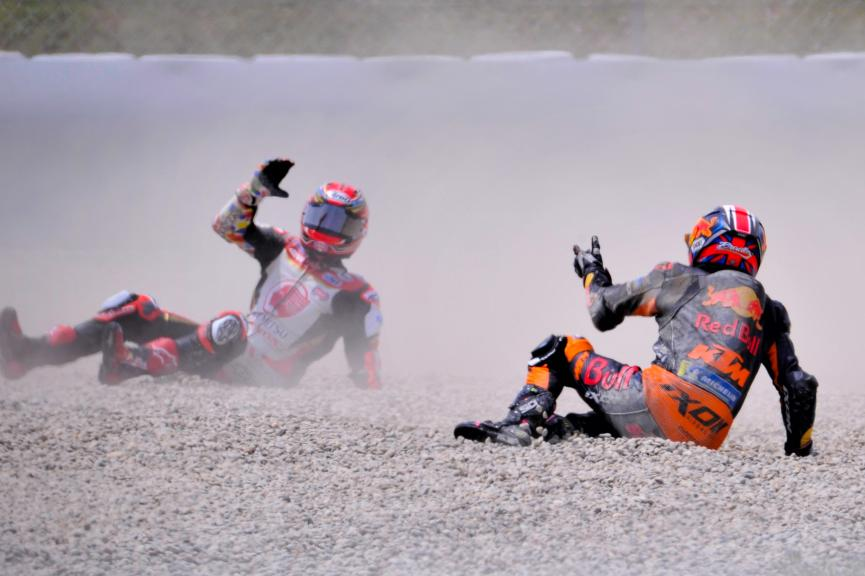 Takaaki Nakagami, Bradley Smith, Gran Premi Monster Energy de Catalunya @Jaco Veenstra