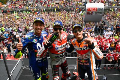 The numbers behind the Catalan GP podium