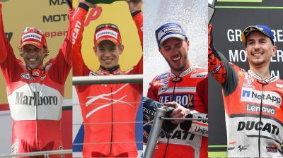 Lorenzo nun im Ducati-Klub mit zwei Siegen hintereinander