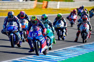 Moto3™: Un italiano tira del carro a la llegada a Assen
