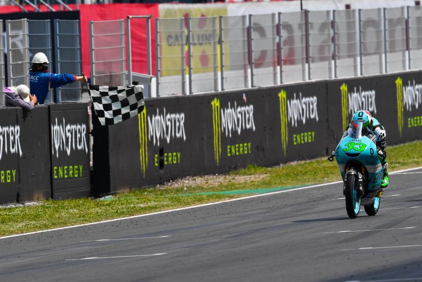 Enea Bastianini, Leopard Racing, Gran Premi Monster Energy de Catalunya