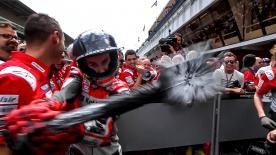 Ein Rückblick auf einige der unbeschwerten Momente des Italien GP in Barcelona-Catalunya
