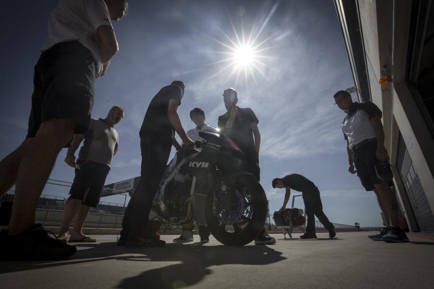 Triumph, Test Aragon