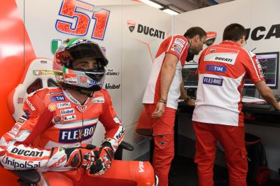 Pirro: 'I can't wait to get on the bike'