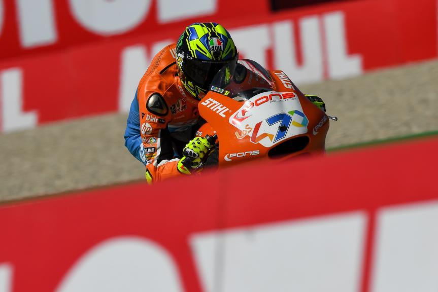 Lorenzo Baldassarri, Pons HP40, Motul TT Assen