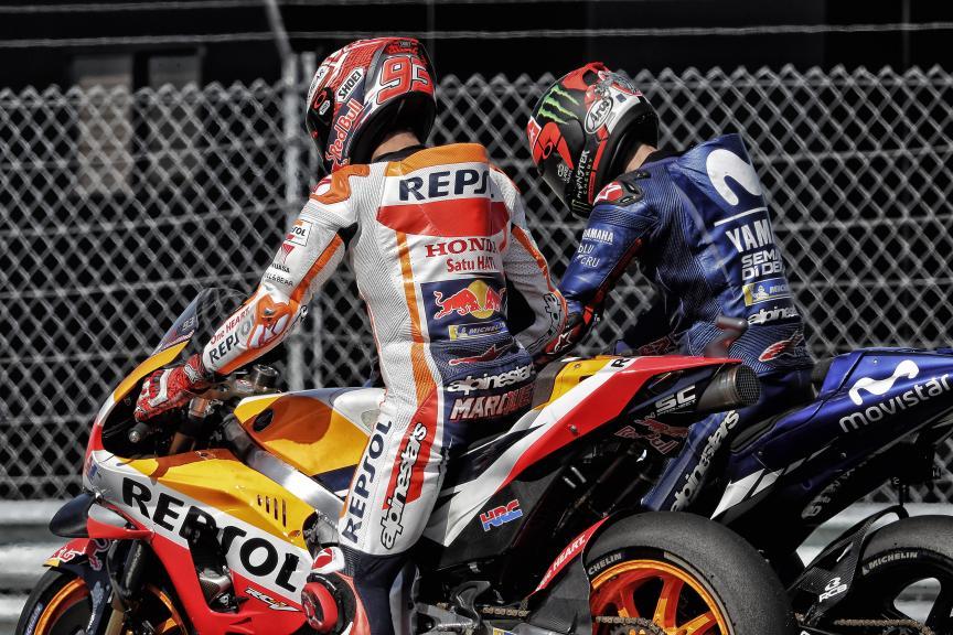 Marc Marquez, Repsol Honda Team, Maverick Viñales, Movistar Yamaha MotoGP, Motul TT Assen