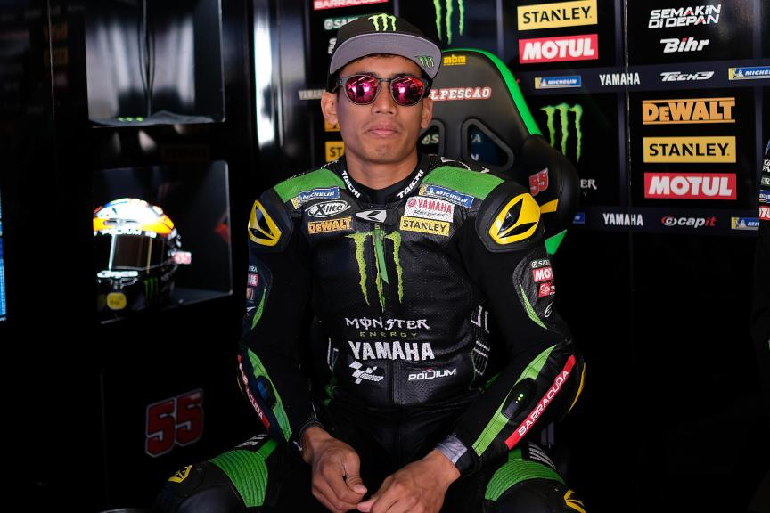 Hafizh Syahrin, Monster Yamaha Tech 3, Motul TT Assen