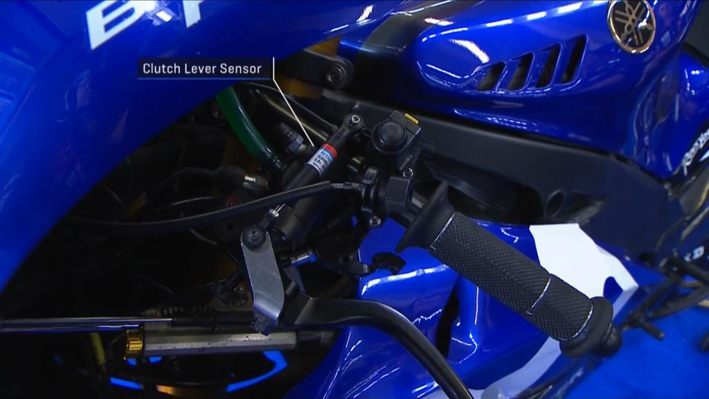 Clutch lever sensor