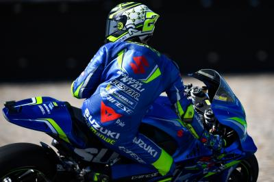 Iannone P2 as Suzuki explore engine and chassis combos