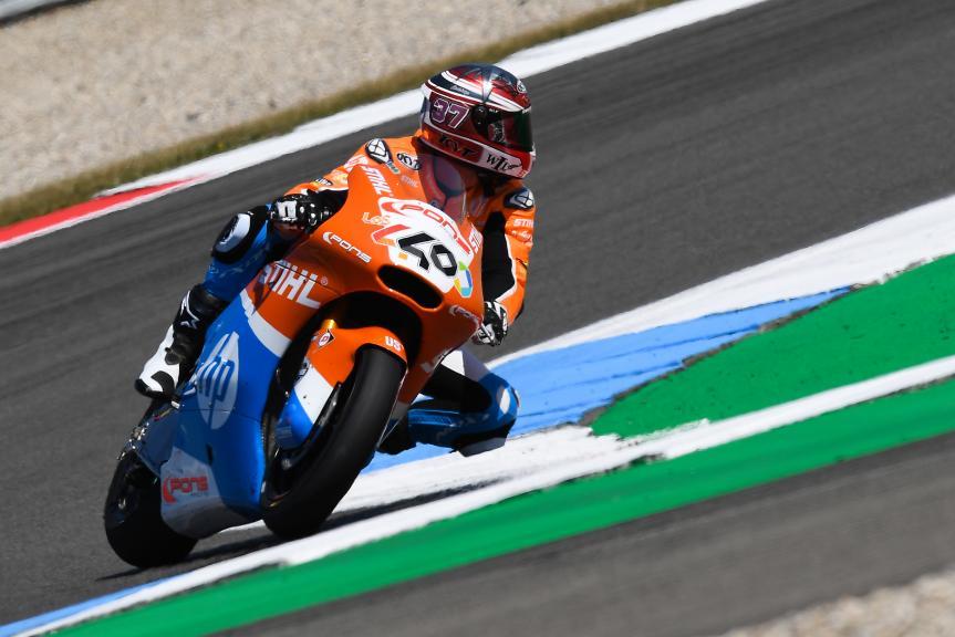 Augusto Fernandez, Pons HP40, Motul TT Assen