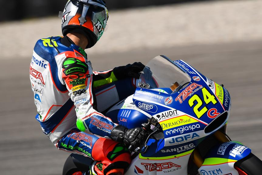 Simone Corsi, Tasca Racing Scuderia Moto2, Motul TT Assen