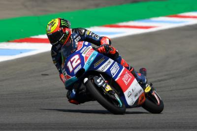 Bezzecchi se replace avant les qualifications d'Assen