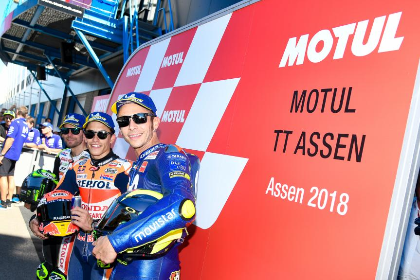 Marc Marquez, Cal Crutchlow, Valentino Rossi, Gran Premio d'Italia Oakley