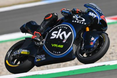 Bagnaia remains quickest, Fenati in close pursuit