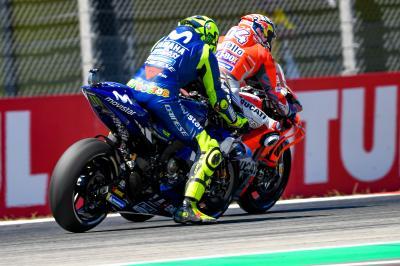Rossi vs Dovizioso: Les deux facettes du duel