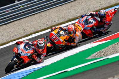 """Lorenzo: """"I didn't expect to be able to lead!"""""""