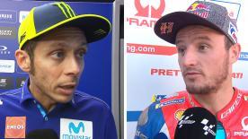 Les principaux protagonistes du MotoGP™ reviennent sur leur GP des Pays-Bas.