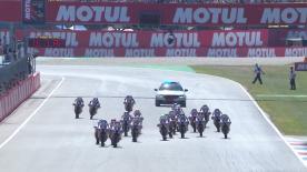 Regardez la deuxième course Red Bull MotoGP Rookies Cup disputée à Assen.