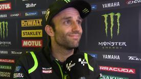 Johann Zarco, classé huitième du GP des Pays-Bas, se disait malgré tout ravi d'avoir retrouvé de bonnes sensations sur sa moto.