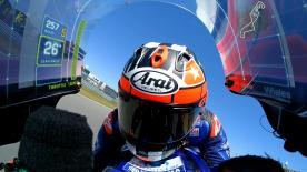 MotoGP™マシンに搭載したオンボードカメラが捉えた第8戦TTアッセン決勝レースのスタートから1ラップ目通過までのアクションを再現。