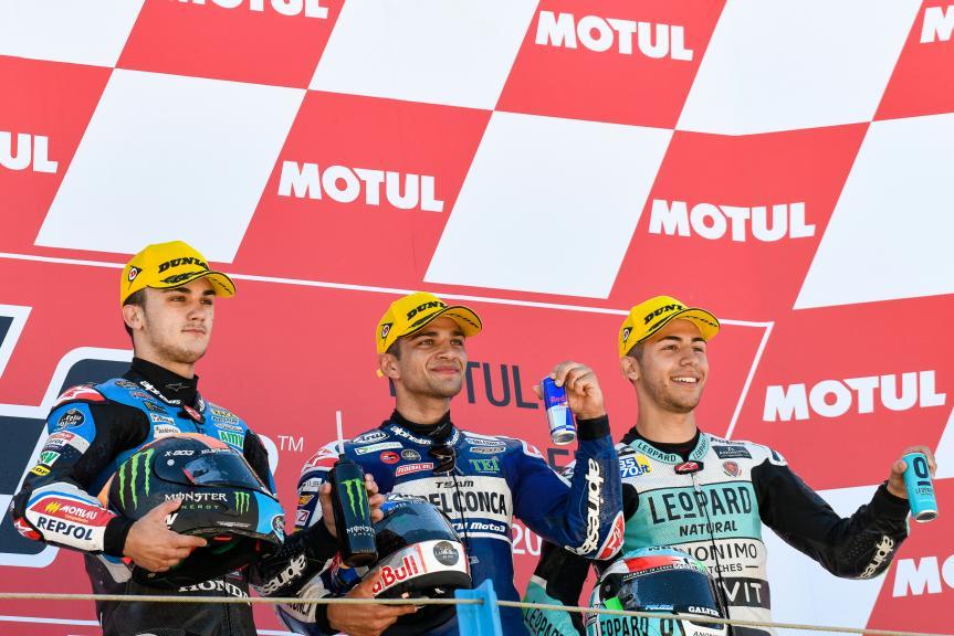 Jorge Martin, Aron Canet, Enea Bastianini, Motul TT Assen