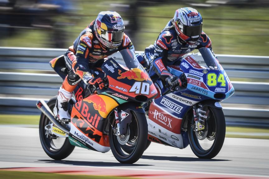 Darryn Binder, Jakub Kornfeil, Red Bull KTM Ajo, Motul TT Assen