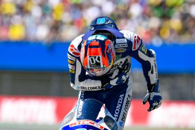 Martin times it to perfection amid Moto3™ drama at Assen