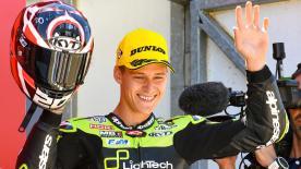 11e à l'issue du premier tour, Fabio Quartararo grimpait finalement sur la deuxième marche du podium à Assen.