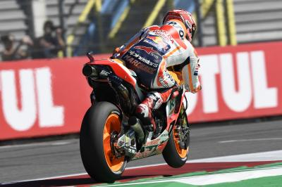 Márquez domine le warm-up d'Assen