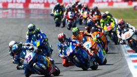 The full race session at the DutchGP of the Moto2? World Championship.