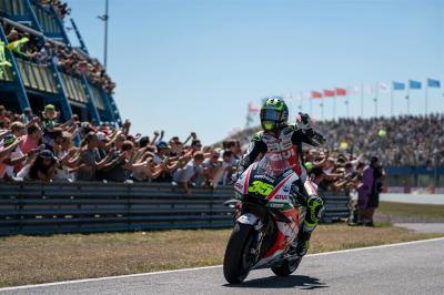 "Crutchlow: ""The last two laps were my downfall"""