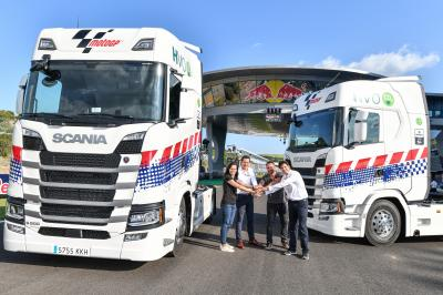 Scania: MotoGP? Sustainable Truck Supplier in 2018 and 2019