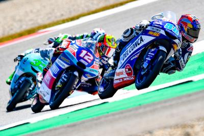 Anyone's game: the Moto3™ title fight closes up