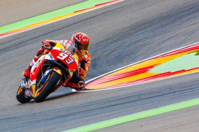 Aragon dedicates Turn 10 to Marquez