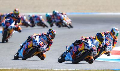 Red Bull Rookies prepare for half term Sachsenring test