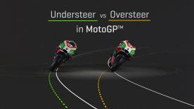 What is oversteer and understeer: what are the differences and how do the riders use it? Find out in this 3D video