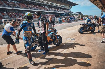 "Morbidelli waits: ""The injury is improving"""