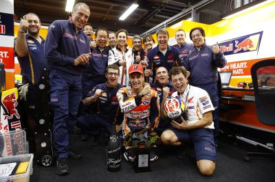 The numbers game: Dani Pedrosa