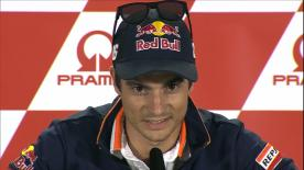Dani Pedrosa announced his retirement, ahead of the German GP, thanking Dorna, Honda, his sponsors and the many fans over the past 18 years