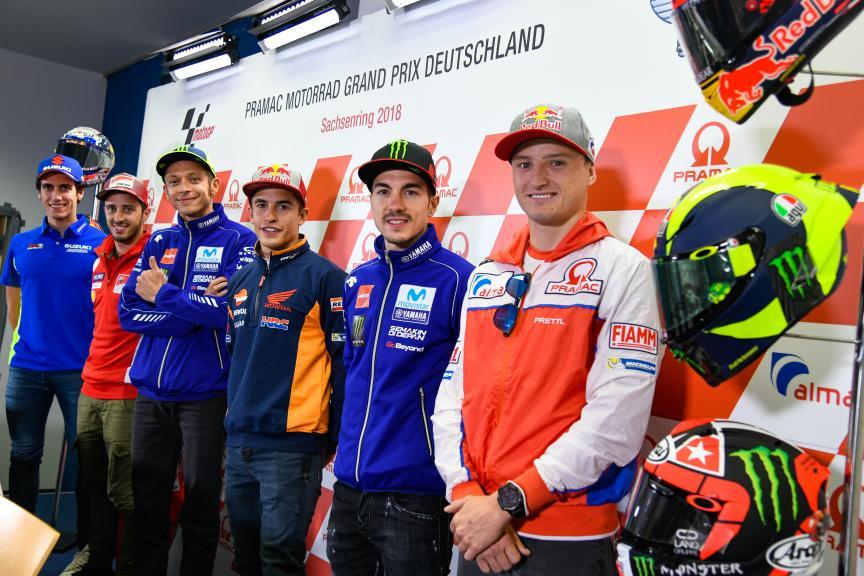 Press-Conference, Pramac Motorrad Grand Prix Deutschland