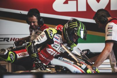 Crutchlow gives a rider's eye view of the controls