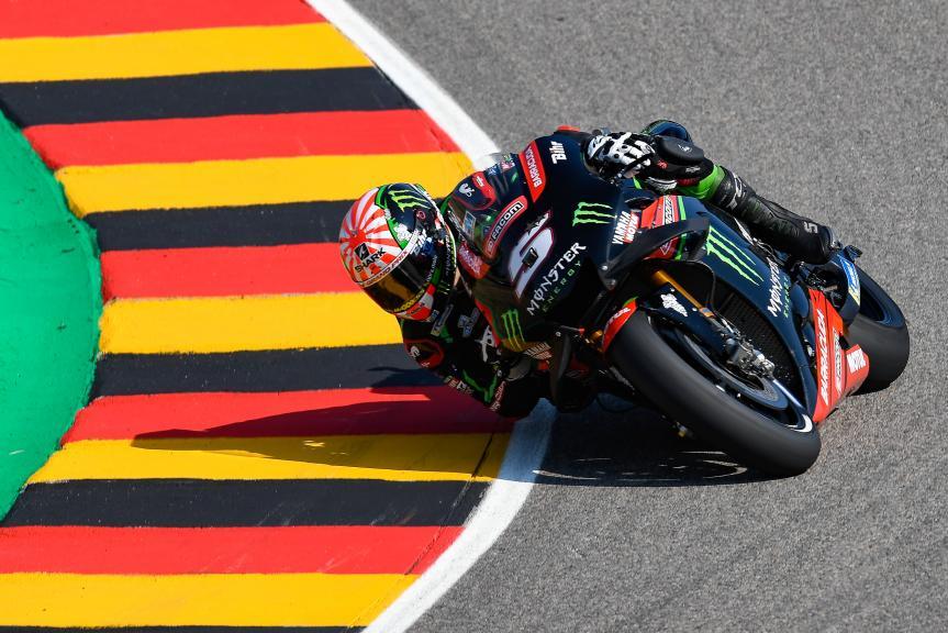 Johann Zarco, Monster Yamaha Tech 3, Pramac Motorrad Grand Prix Deutschland