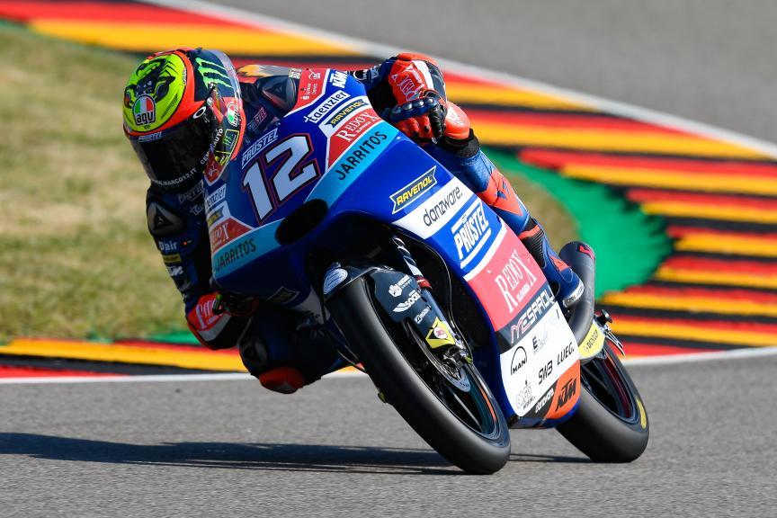 Marco Bezzecchi, Pruestelgp, Pramac Motorrad Grand Prix Deutschland
