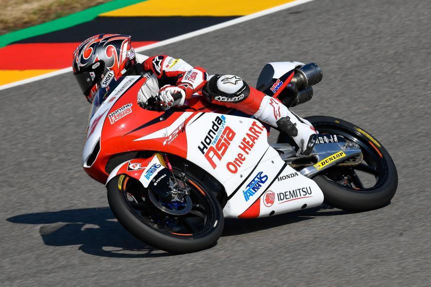 Kaito Toba, Honda Team Asia, Pramac Motorrad Grand Prix Deutschland