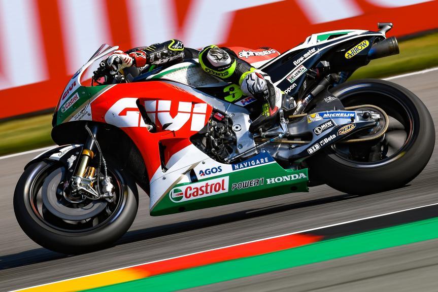 Cal Crutchlow, LCR Honda Castrol, Pramac Motorrad Grand Prix Deutschland